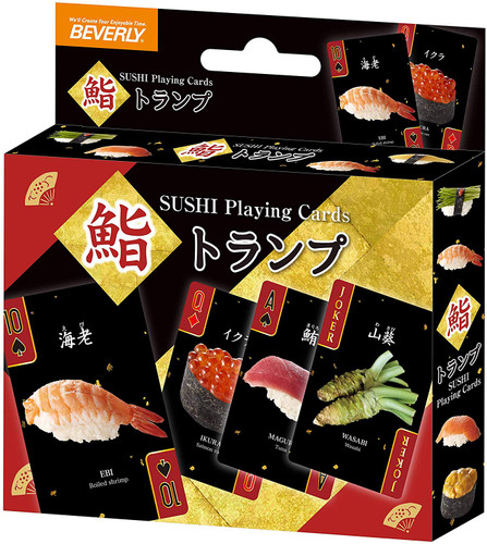Beverly 486947 Playing Cards Sushi