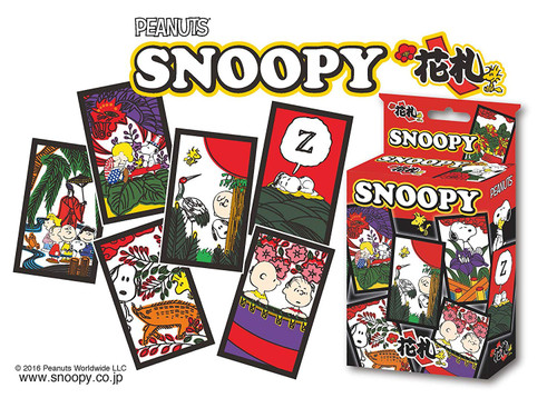 Beverly 485094 Japanese Playing Cards (Hanafuda) Snoopy