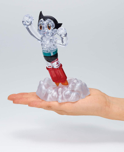 Beverly Crystal 3D Puzzle 486961 Flying Astro Boy (34 Pieces)