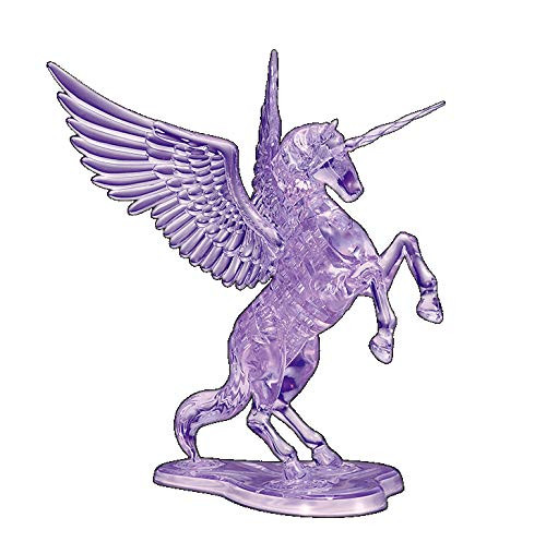 Beverly Crystal 3D Puzzle 487043 Unicorn Purple (43 Pieces)