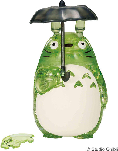 Beverly Crystal 3D Puzzle 486657 My Neighbor Totoro Green (42 Pieces)