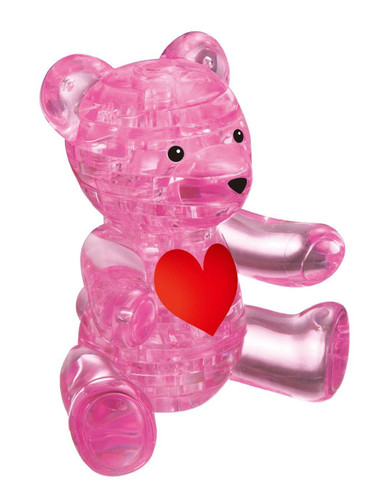 Beverly Crystal 3D Puzzle 482970 Teddy Bear Pink