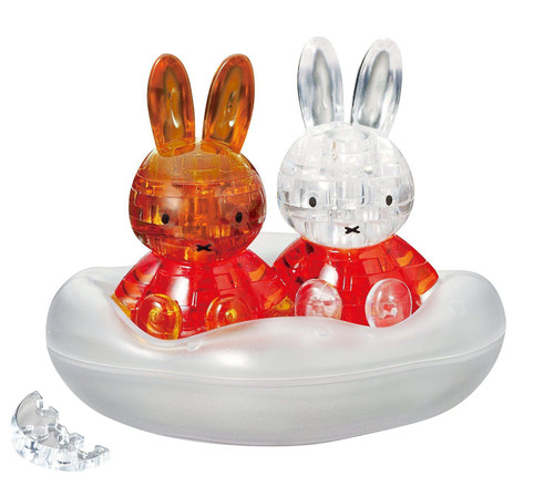 Beverly Crystal 3D Puzzle 484325 Dick Bruna Miffy & Friend
