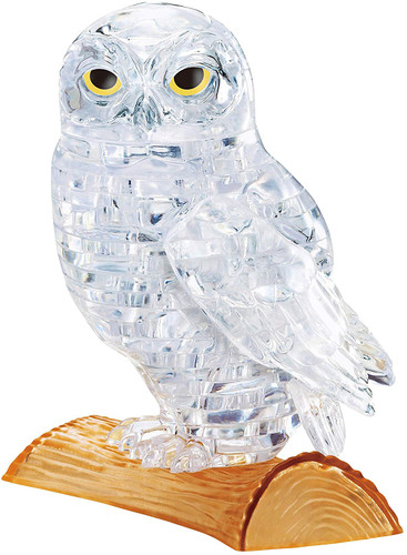 Beverly Crystal 3D Puzzle 484646 Owl Clear (42 Pieces)