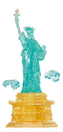 Beverly Crystal 3D Puzzle 485643 The Statue of Liberty (78 Pieces)