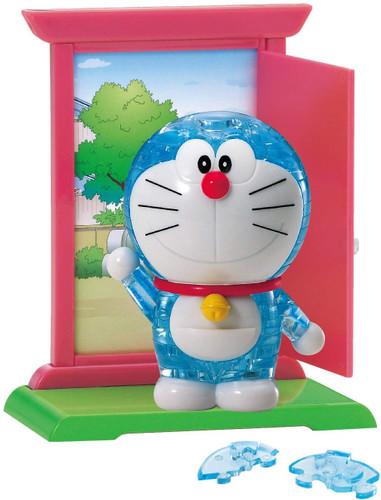 Beverly Crystal 3D Puzzle 486169 Doraemon (44 Pieces)