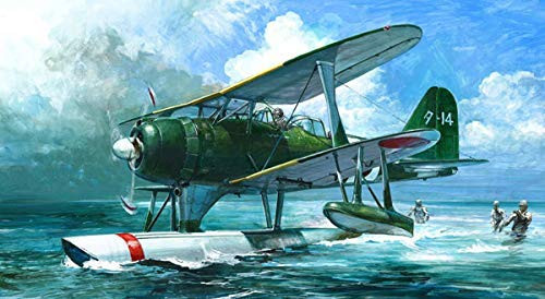 Fujimi C-12EX1 Mitsubishi Type Zero Observation Seaplane Model 11 (Nagato) 1/72 Scale Kit