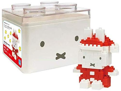 Kawada NBCC_067 nanoblock Santa Miffy