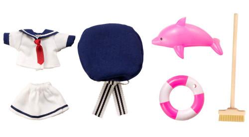 Kotobukiya ADE71 Cu-poche Extra (Work Mode) Sailor Set -Shell Pink-