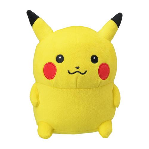 Pokemon Center Original Plush Doll 24 Hour Pokemon CHU Line Stamp Pikachu