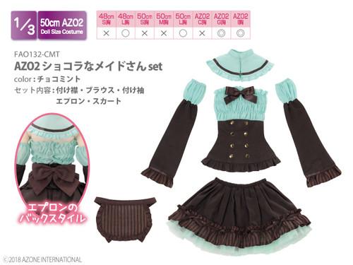 Azone FAO132-CMT AZO2 Chocolate Maid Set (Mint Chocolate)