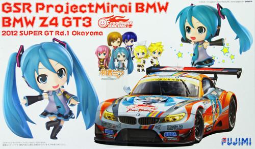 Fujimi 170015 BMW Z4 GT3 Hatsune Miku GSR Project Mirai Okayama 1/24 Scale Kit
