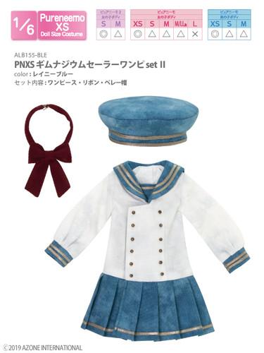 Azone ALB155-BLE PNXS Gymnasium Sailor Suit School Uniform Set II (Rainy Blue)