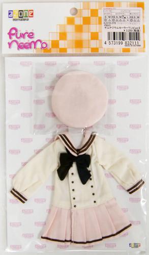 Azone ALB155-STB PNXS Gymnasium Sailor Suit School Uniform Set II (Strawberry x Chocolate)