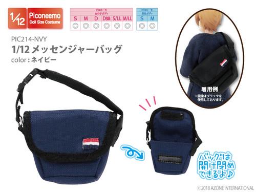 Azone PIC214-NVY Picco Neemo 1/12 Messenger Bag (Navy)
