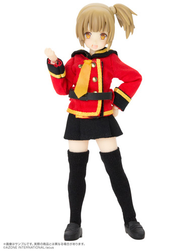 Azone ALC046-ALB Assault Lily Series 046 [Custom Lily] Type-A Ver.2.0 (Light Brown)