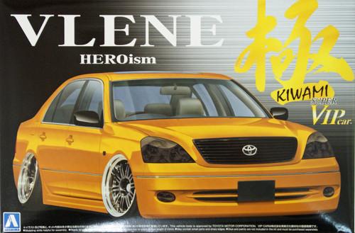 Aoshima 08249 Toyota Celsior VLENE HEROism Kiwami 1/24 Scale Kit