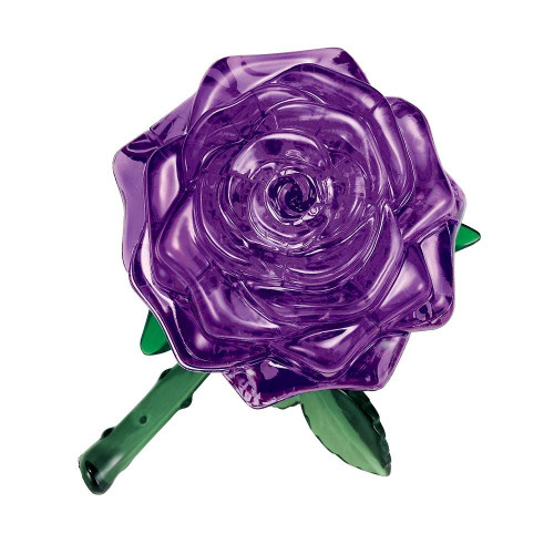 Beverly Crystal 3D Puzzle 50254 Purple Rose Flower