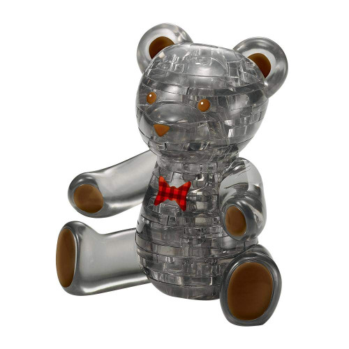 Beverly Crystal 3D Puzzle 50253 Teddy Bear Black (41 Pieces)