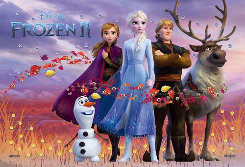 Epoch Jigsaw Puzzle Decoration 73-009 Disney Frozen 2 Nature Magical (300 Pieces)