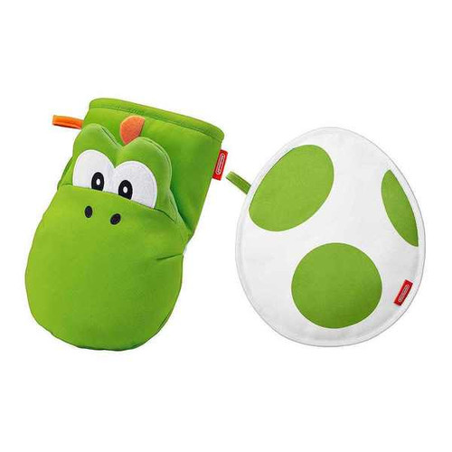 Nintendo Super Mario Home & Party Oven Mitten & Pot Stand (Yoshi)