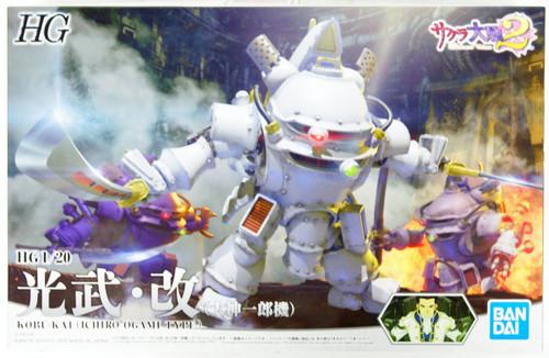 Bandai HG Sakura Wars (Sakura Taisen) Koubu Kai (Ichiro Ogami Use) 1/20 Scale Kit