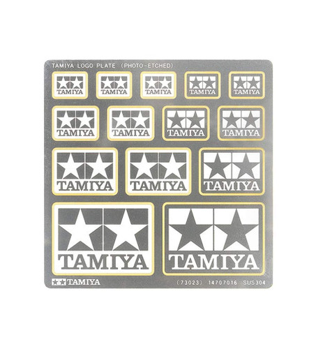 Tamiya 73023 Tamiya Logo Plate (Photo-Etched)