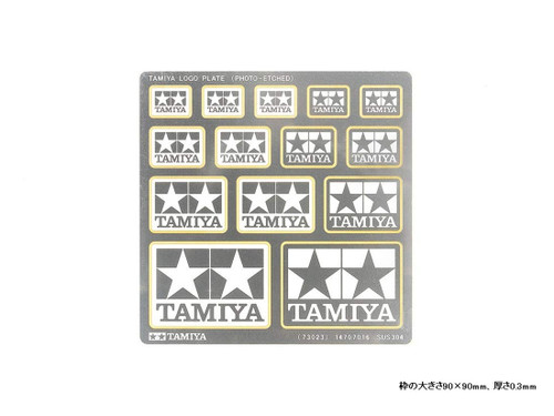 Tamiya 73023 Tamiya Logo Plate (Photo-Etched)