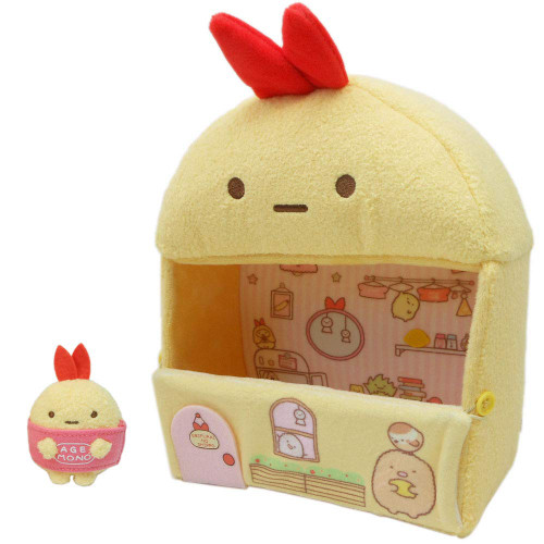 San-X Sumikko Gurashi Sumikko House Plush Toy Fried Shrimp Tail TJN