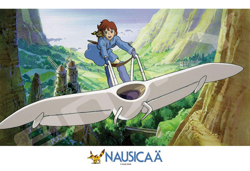 Ensky Jigsaw Puzzle 300-410 Studio Ghibli Nausicaa of the Valley of the Wind Riding Mowe (300 Pieces)