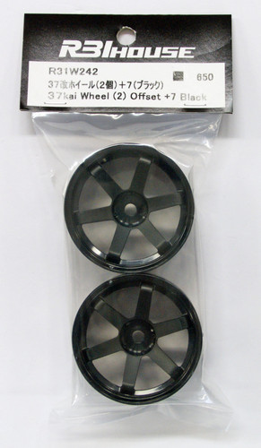 R31HOUSE R31W242 37 kai Wheel Offset +7 Black (2 pcs)