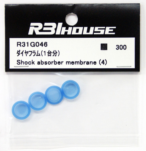 R31HOUSE R31G046 Shock Absorber Membrane (4 pcs)