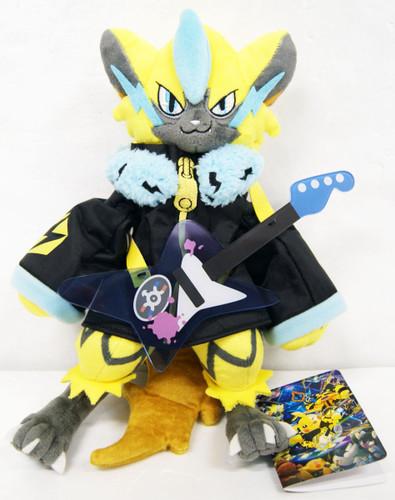 Pokemon Center Original Plush Doll Band Fes Zeraora