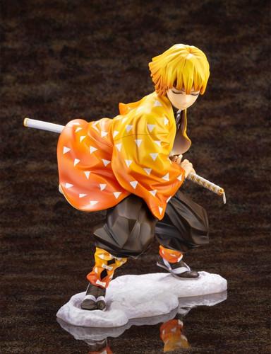 Kotobukiya PP849 ARTFX J Zenitsu Agatsuma 1/8 Scale Figure (Demon Slayer: Kimetsu no Yaiba)