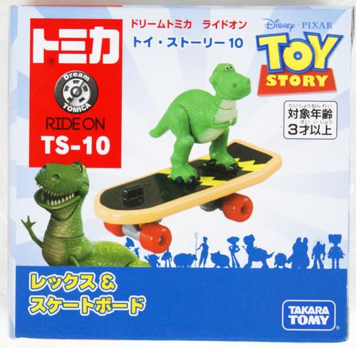 Tomy Dream Tomica TS-10 Toy Story Rex & Skateboard 133940