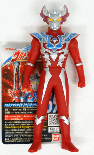 Bandai Ultraman Ultra Hero Series 69 Ultraman Taiga Tri Strium Figure