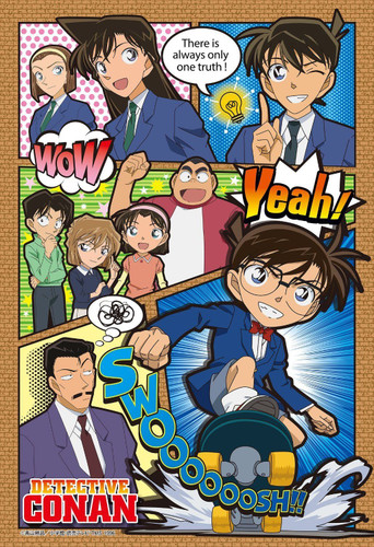 Apollo-sha Jigsaw Puzzle 48-768 Japanese Anime Detective Conan (300 Pieces)