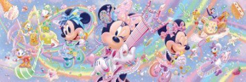 Tenyo Japan Jigsaw Puzzle DSG-456-705 Disney Minnie Mouse (456 Pieces)