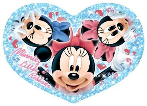 Tenyo Japan Jigsaw Puzzle DSH-180-425 Disney Minnie Little Ribbons (180 Pieces)