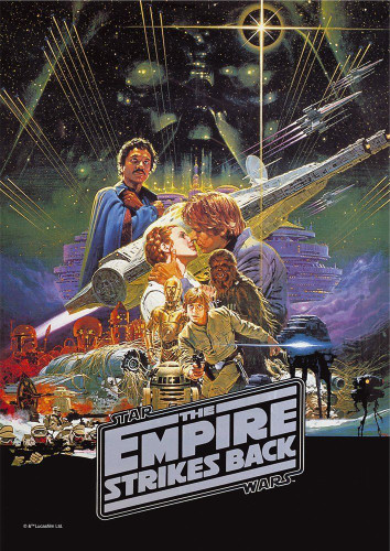 Tenyo Japan Jigsaw Puzzle W-108-649 Star Wars The Empire Strikes Back 108 Pieces