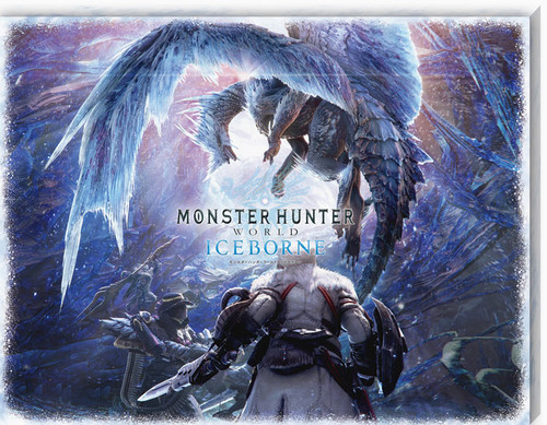 Ensky Jigsaw Puzzle ATB-07 Monster Hunter World Iceborne (366 Pieces)