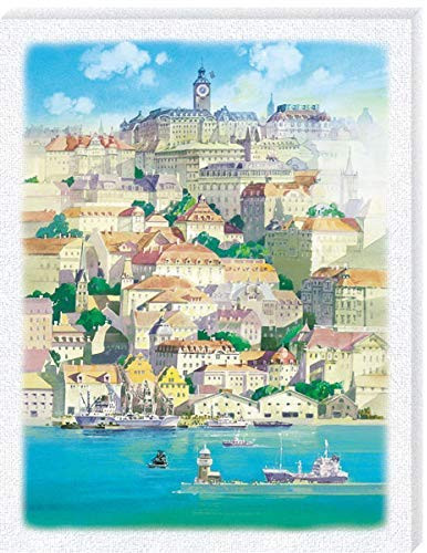 Ensky Jigsaw Puzzle ATB-14 Studio Ghibli Kiki's Delivery Service Town Floating in The Sea (366 Pieces)