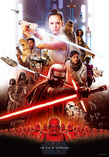 Tenyo Japan Jigsaw Puzzle W1000-671 Star Wars The Rise Of Skywalker (1000 S-Pieces)