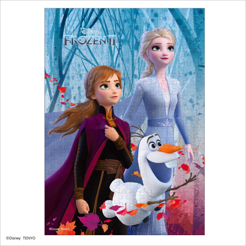 Tenyo Japan Jigsaw Puzzle D300-016 Disney Frozen 2 Anna & Elsa Hidden Secret (300 Pieces)