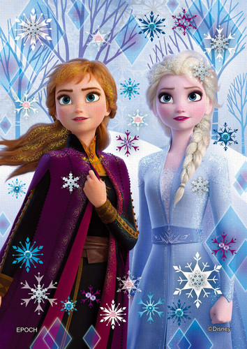 Epoch Jigsaw Puzzle Decoration 72-021 Disney Frozen Elsa & Anna (108 Pieces)