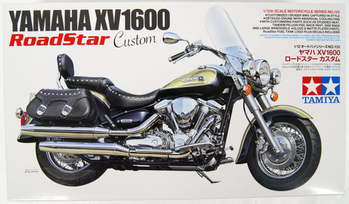 Tamiya 14135 YAMAHA XV1600 Roadstar Custom 1/12 Scale Kit