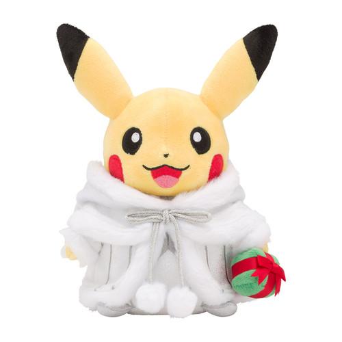 Pokemon Center Original Plush Doll Pikachu Santa Claus Pokemon Frosty Christmas