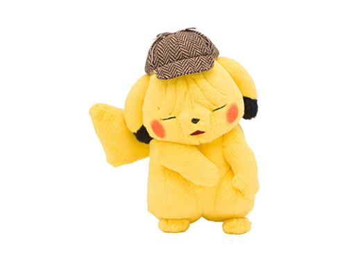 Pokemon Center Original Plush Doll Wrinkled Pikachu (Detective Pikachu)