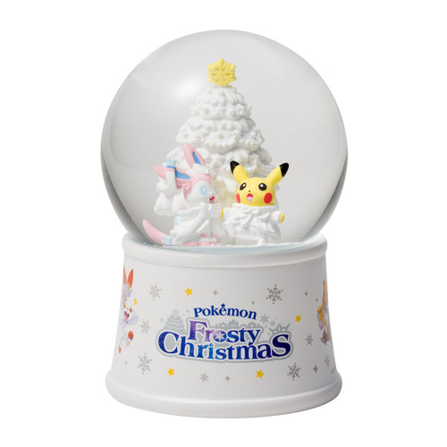 Pokemon Center Original Snowglobe Pokemon Frosty Christmas