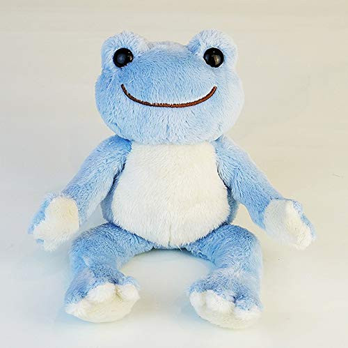Nakajima Corporation Plush Doll Pickles The Frog (Blue) TJN